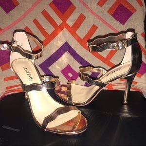 RoseGold JustFab heels